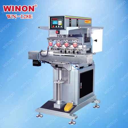 200型油盅式四色移印机